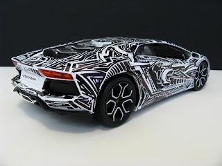 Pinstripe Chris Sharpie Toy Lamborghini Aventador For Sale On Ebay