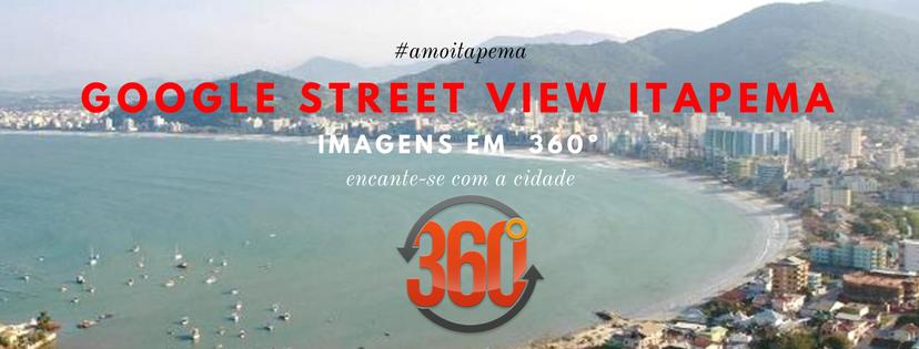 Google street view Itapema imagens em  360º