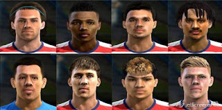Mini Facepack Usa National Team Pes 2013