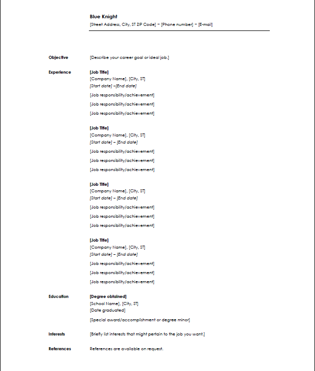 what resume format do employers prefer 100 images free resume