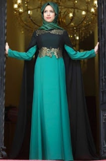 11 Long Dress Muslimah Modern Paling Mewah Dan Elegan