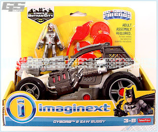 Streets of Gotham Cyborg & Saw Buggy Walmart Batman Fisher-Price Imaginext DC Comics Super Friends アメコミ バットマン