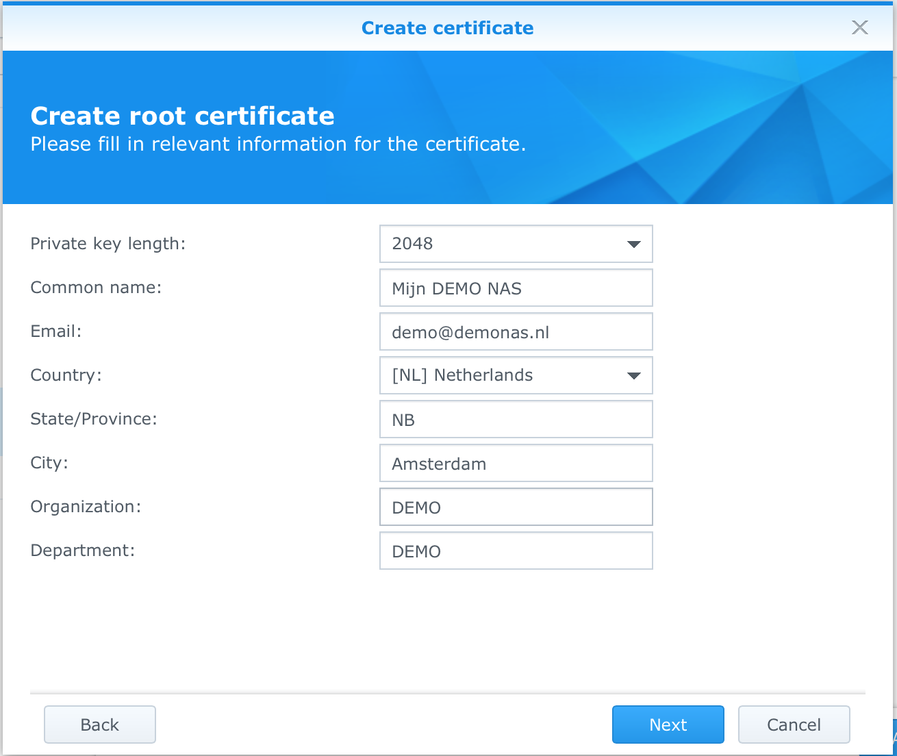 Steelooper's Blog: Synology : Publish through HAProxy