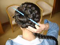 Hairstyles photos Braided bun updo Hair