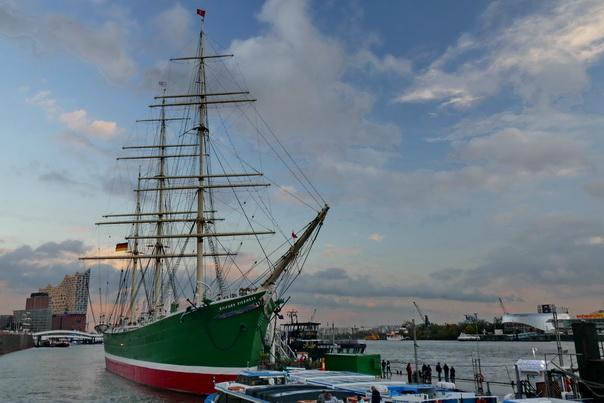 Rickmer, Rickmers, Museum, Schiff, Museumsschiff, Hamburg, Hafen, Landungsbrücken