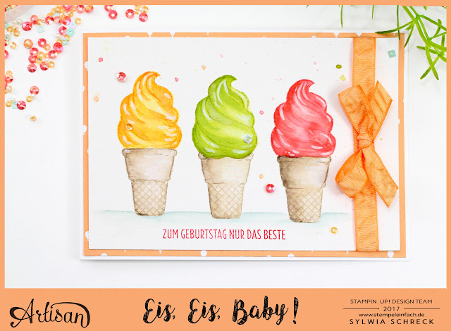 Eis, Eis, Baby Stampin Up