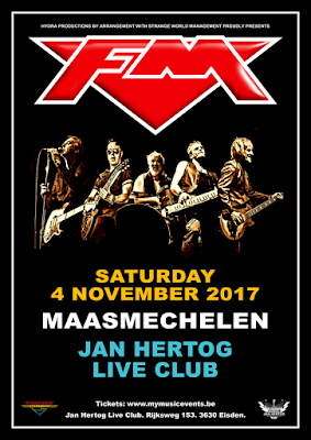 FM live at Maasmechelen Jan Hertog Live Club - 4 Nov 2017 - poster