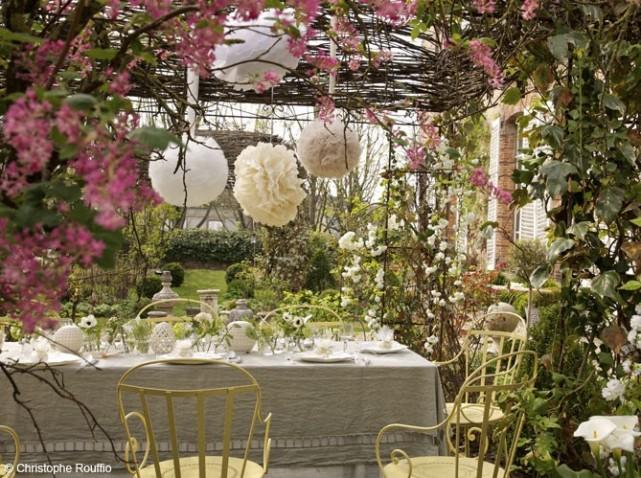 a garden wedding design gourmande. Black Bedroom Furniture Sets. Home Design Ideas