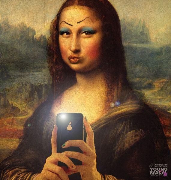 03-Mona-Lisa-La-Gioconda-Richard-Kingston-Old-Masters-Paintings-with-a-Science-fiction-Twist-www-designstack-co