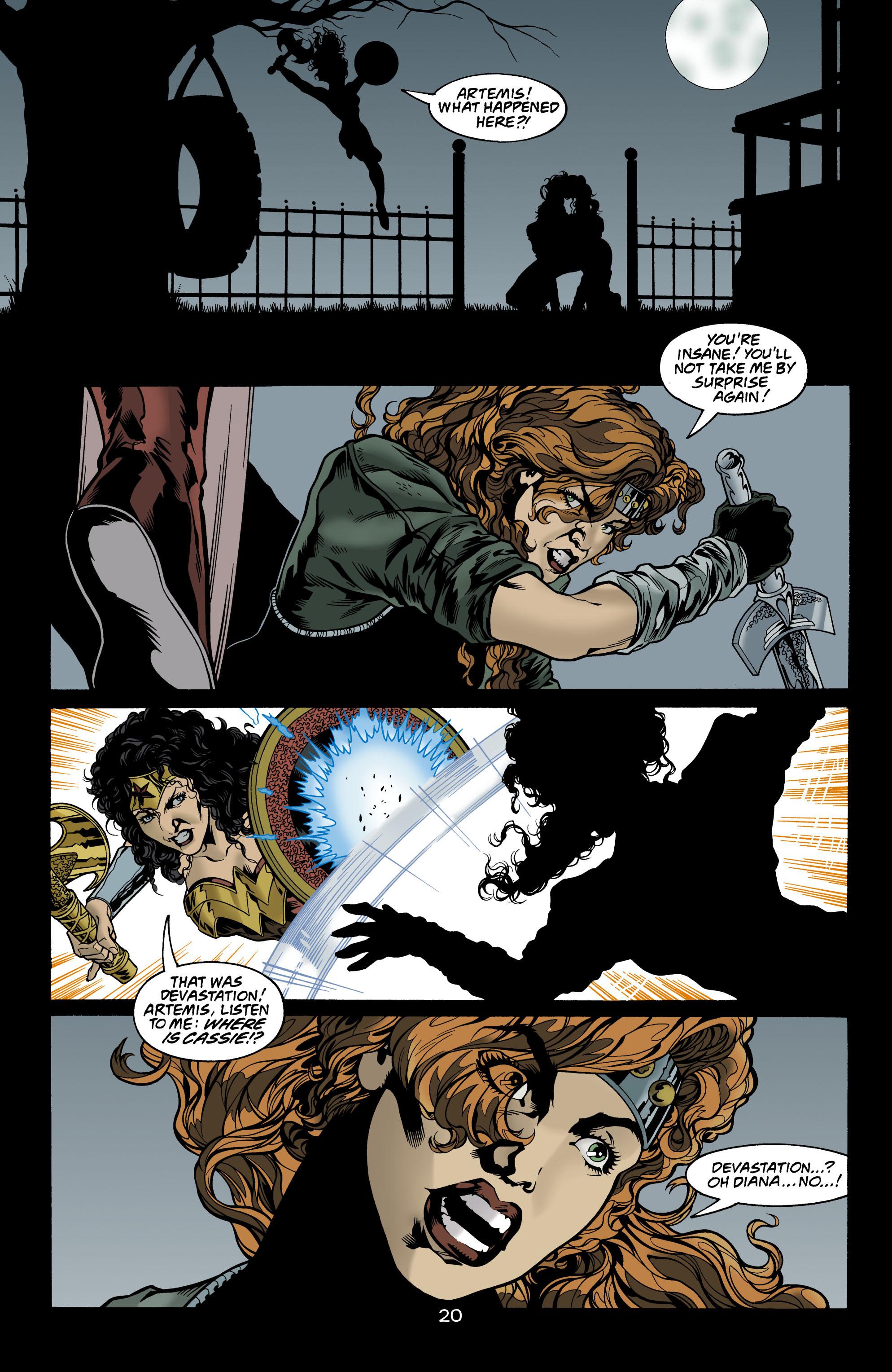 Read online Wonder Woman (1987) comic -  Issue #156 - 21