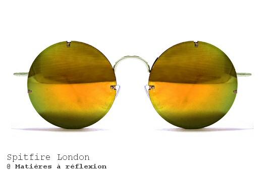 Lunettes de soleil Poolside gold Spitfire London