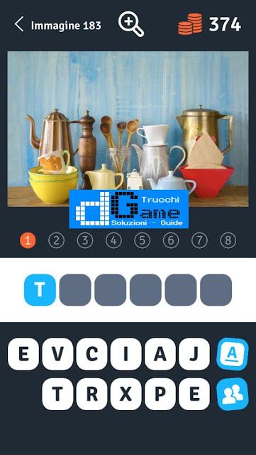 Soluzioni 1 Immagine 8 Parole soluzione livello 181-190