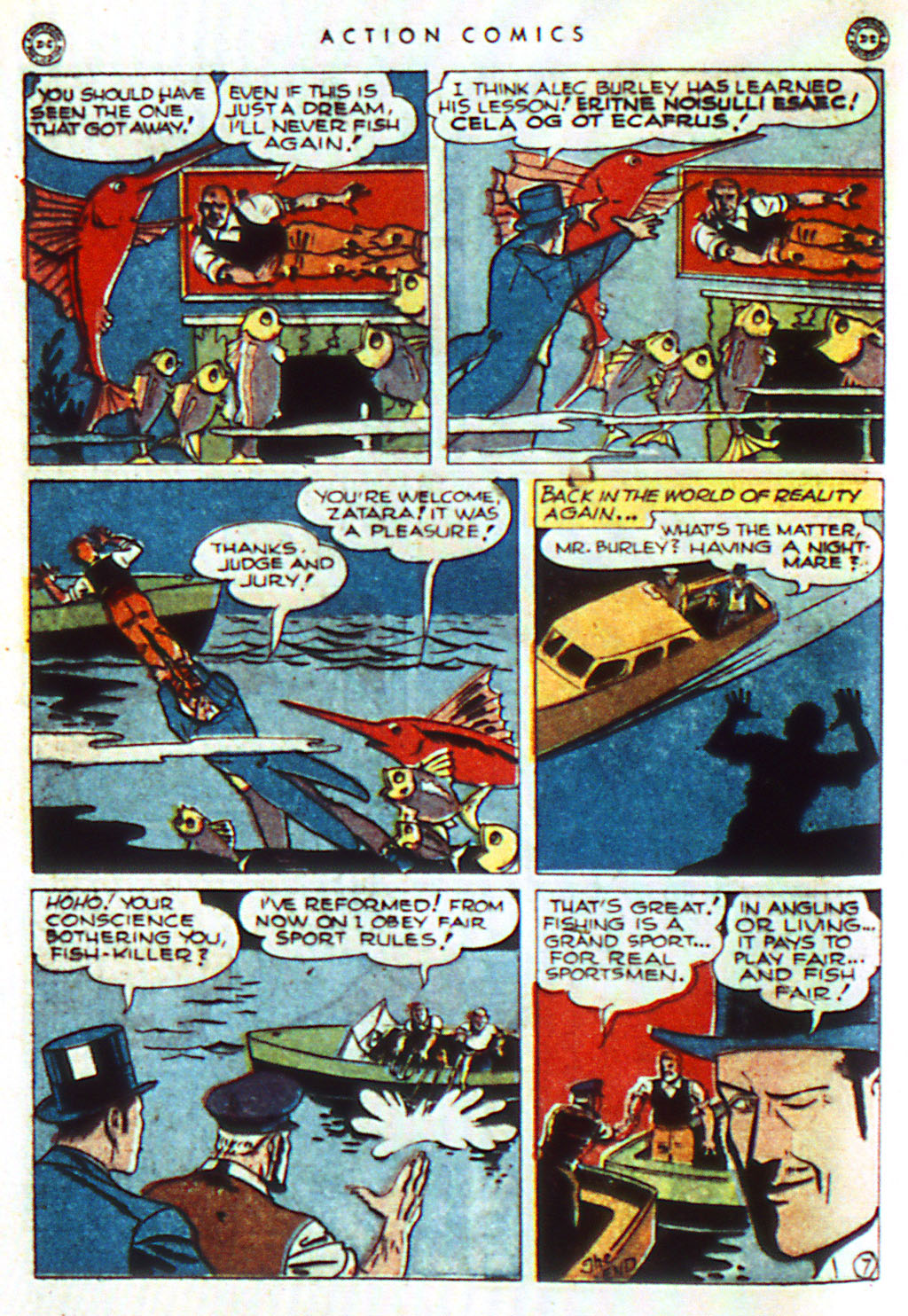 Read online Action Comics (1938) comic -  Issue #98 - 28