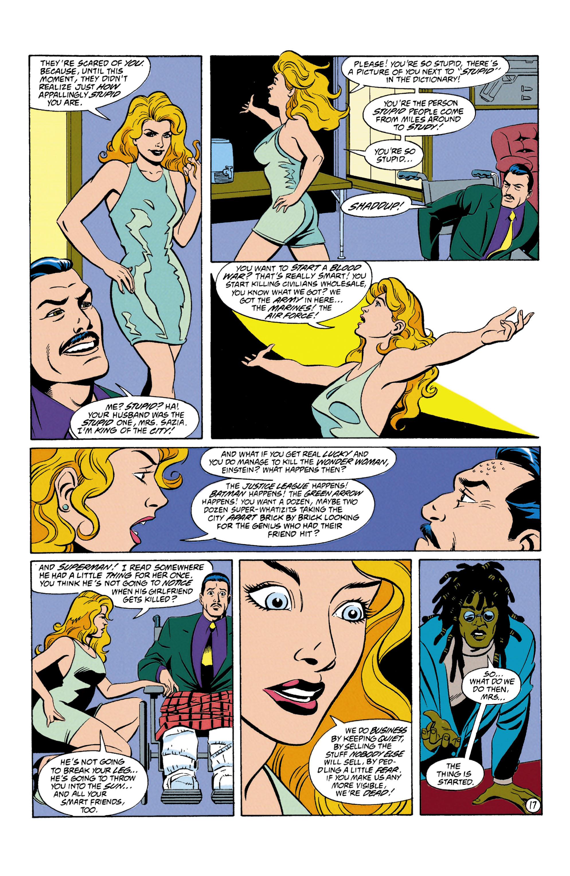 Read online Wonder Woman (1987) comic -  Issue #87 - 18