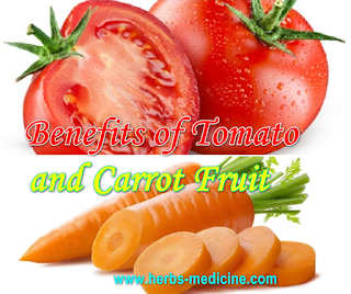 Benefits of Tomato and Carrot Fruit For Men and Women