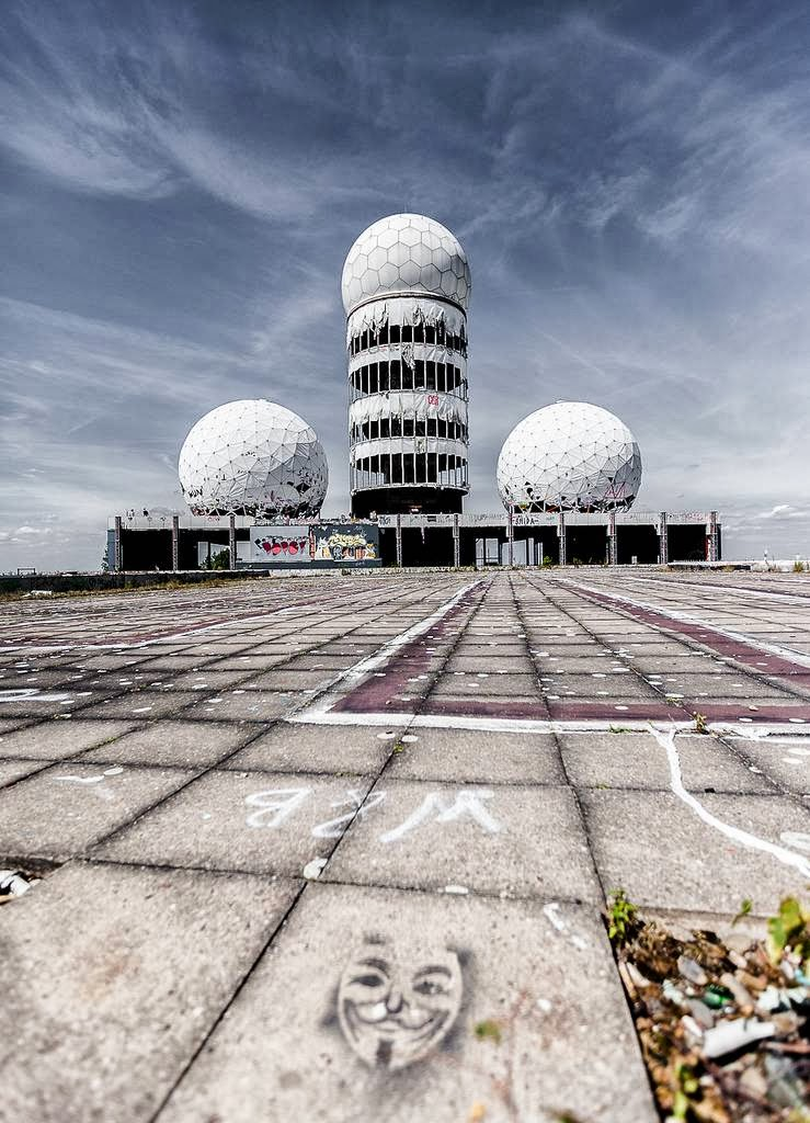 Tower Credit Union >> Teufelsberg: Abandoned Cold War Listening Station Built on ...