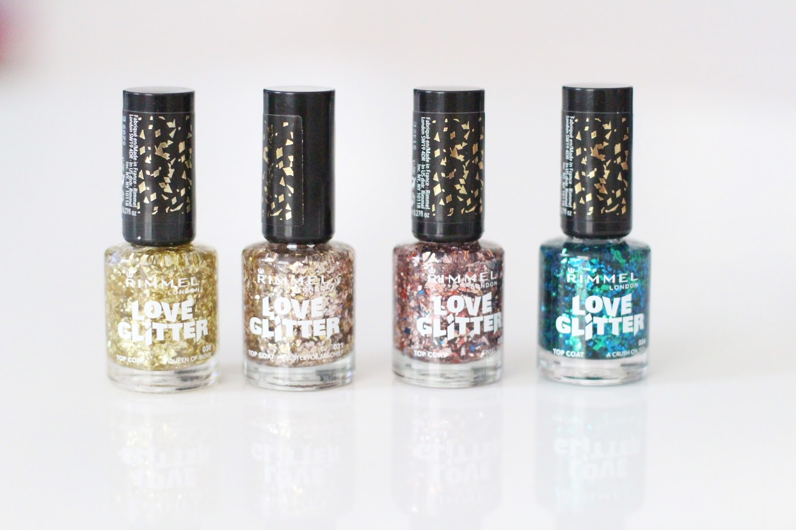 Love Glitter vernis Rimmel London