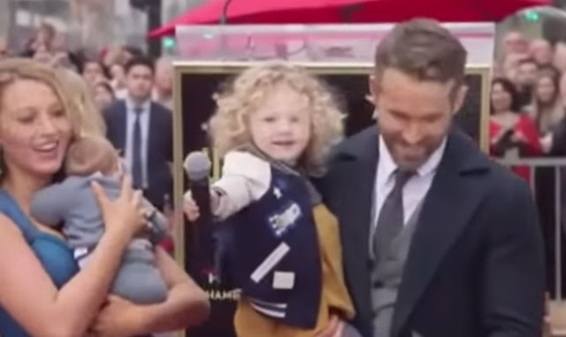Ryan Reynolds' Kids Make Their Public Debut