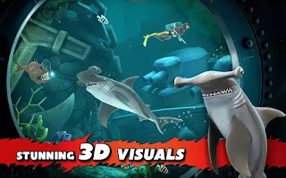 Download Hungry Shark Evolution Mega Mod Apk V4.3.0