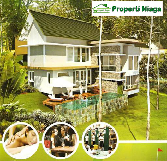 Rumah-Cluster-Emerald-Golf-Sentul-City
