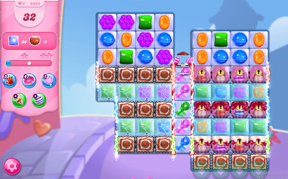 Candy Crush Saga level 5958