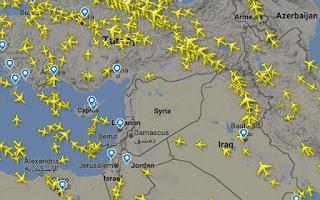 Ώρα μηδέν για πτήσεις πάνω από τη Συρία