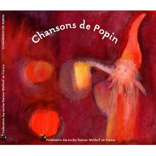 CD  Les chansons de Popin