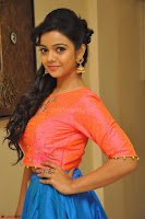 Nithya Shetty in Orange Choli at Kalamandir Foundation 7th anniversary Celebrations ~  Actress Galleries 075.JPG