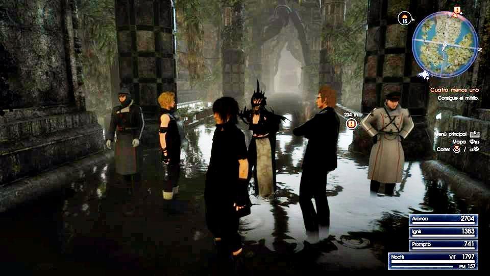 Aranea Highwind Final Fantasy Xv 5k Hd Games 4k: Aa' Game Channel: Final Fantasy XV Screenshot