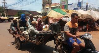 Moto-taxi camboyana.