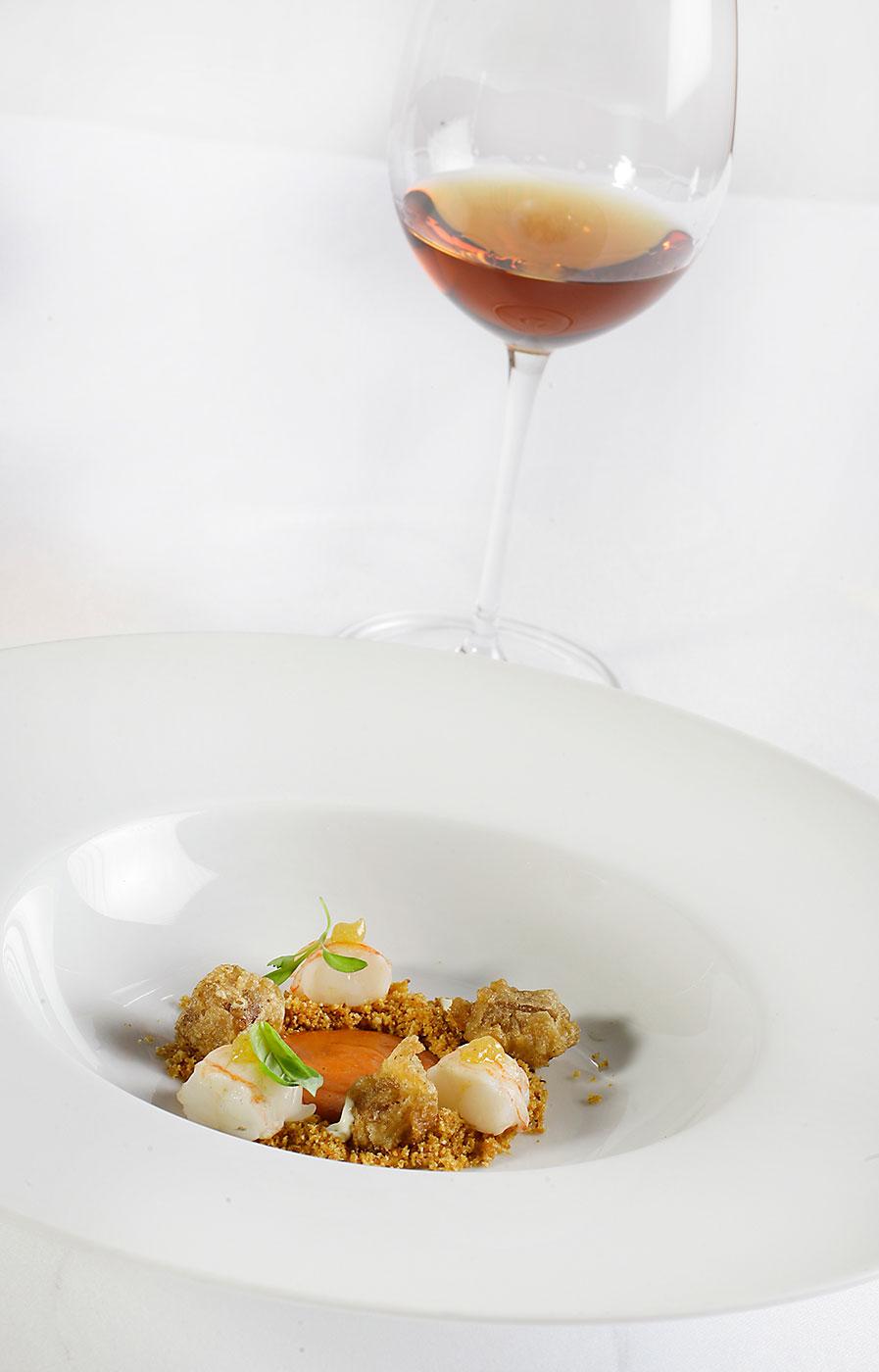 armonias gastronomicas restaurante atrio caceres vinos jerez