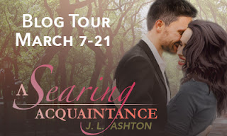 Blog Tour - A Searing Acquaintance by J L Ashton