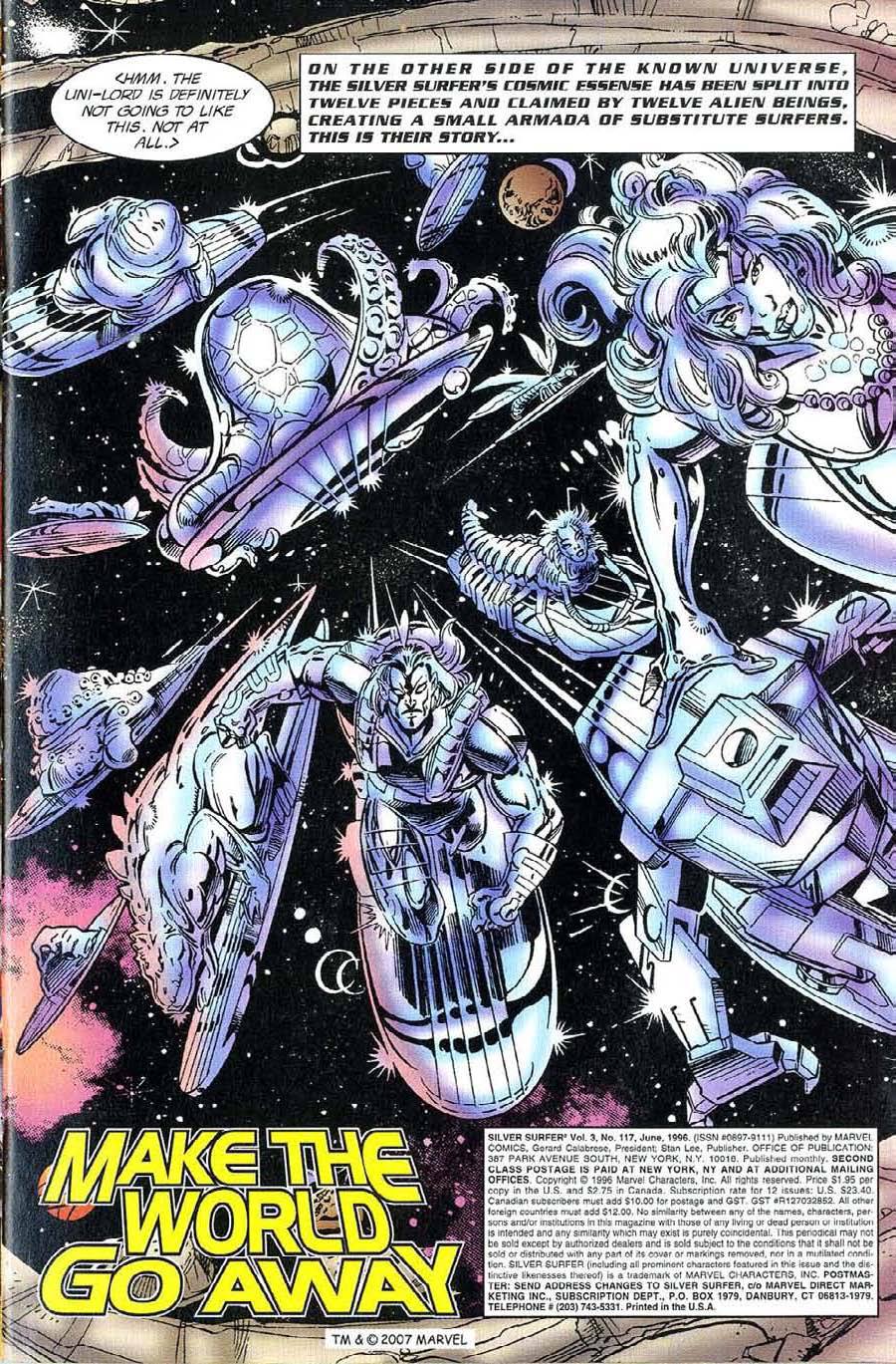 Read online Silver Surfer (1987) comic -  Issue #117 - 3