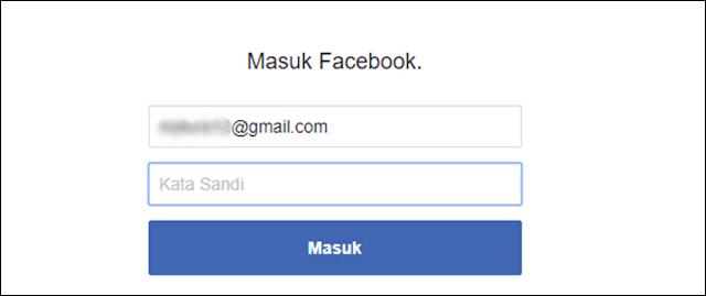 Masuk Facebook
