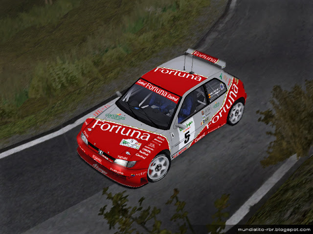 Luis-Monzon-Peugeot-306-kitcar-Rally-El Corte Ingles-1999