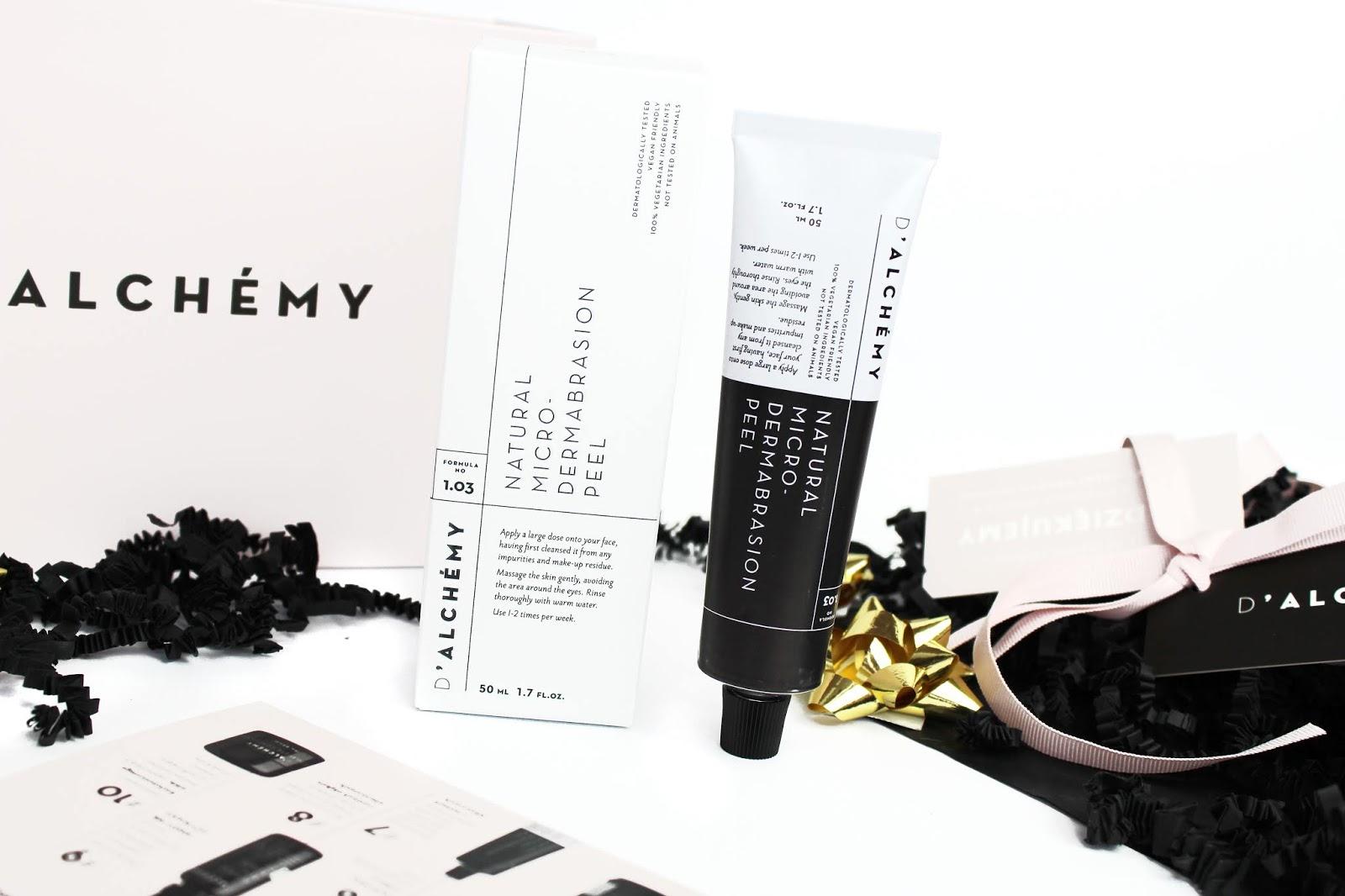 D`Alchémy Natural Micro-Dermabrasion Peel - Złuszczająca dermabrazja z polską marką