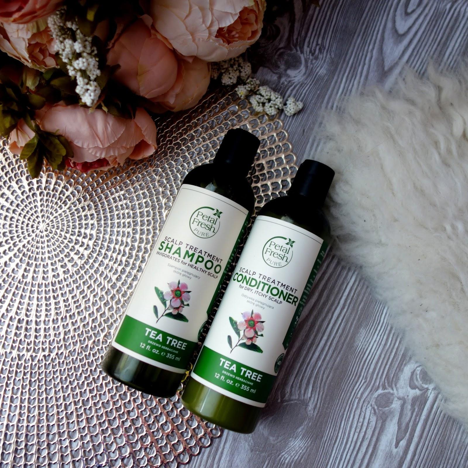 Petal Fresh - moc organicznego olejku z drzewa herbacianego.