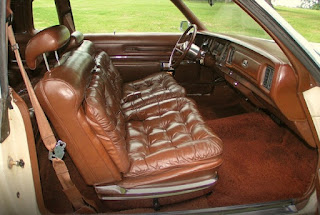 1976 Chrysler New Yorker Brougham Seat Front