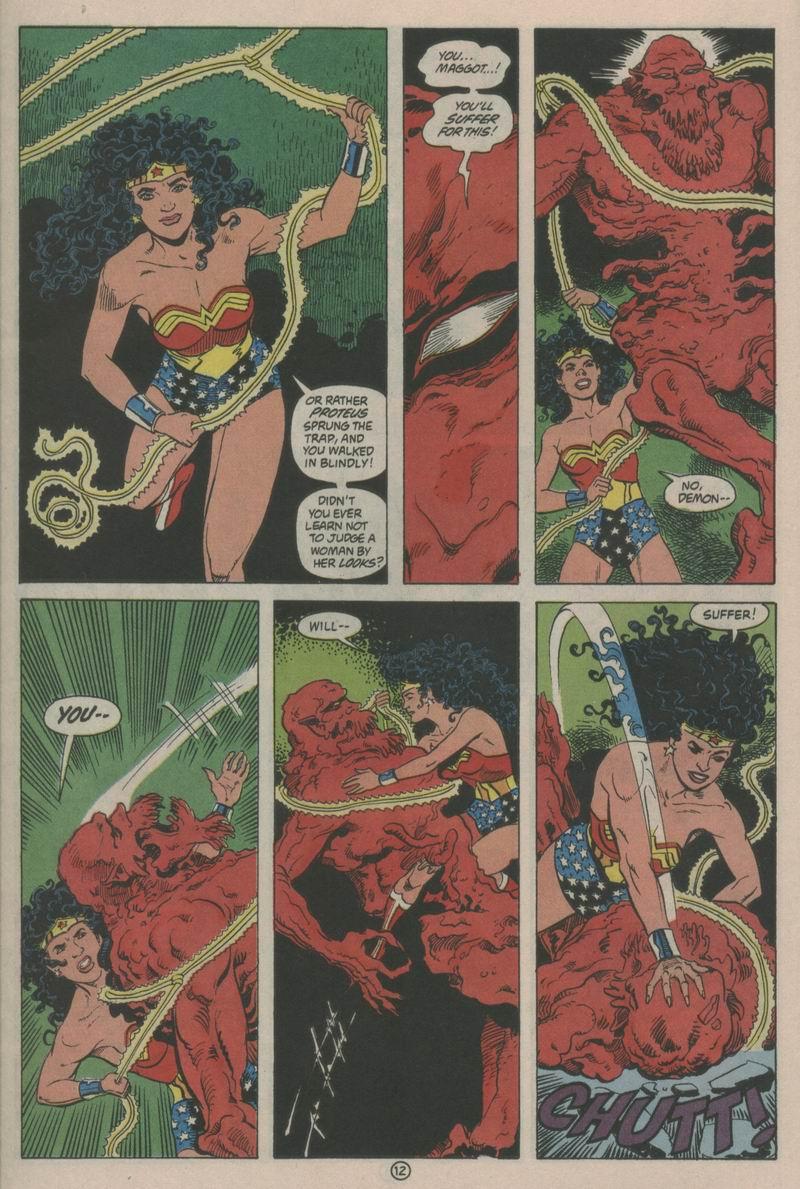 Read online Wonder Woman (1987) comic -  Issue #63 - 13