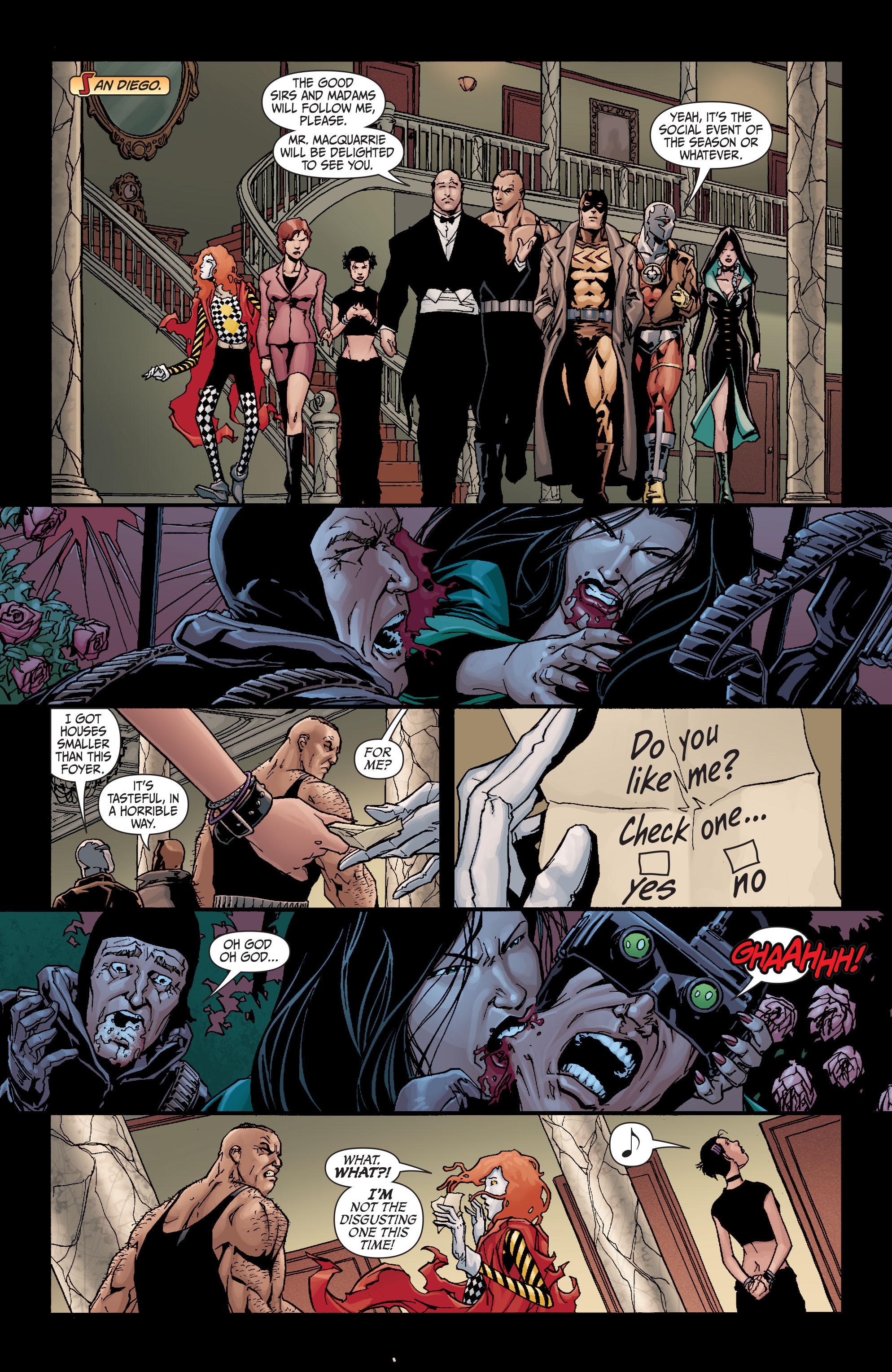 Read online Secret Six (2008) comic -  Issue #19 - 17
