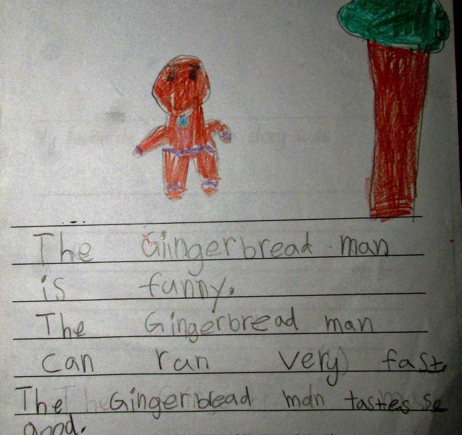 Rocking Dan Teaching Man The Gingerbread Man Description