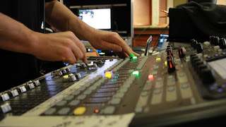 Live Webcasting Audio mixer