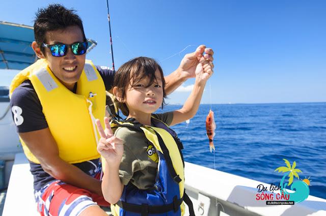 tour câu cá phú yên