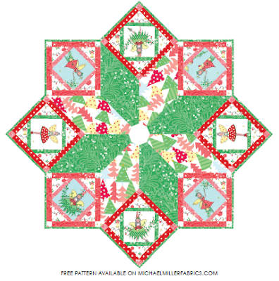 christmas botanics tree skirt and stocking free pattern at blank quilting pdf download cover and instructions