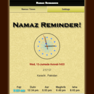 Namaz Reminder Ultimate 1 0 - Nokia N8 - 808 PureView - Anna - Belle