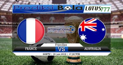 Prediksi Prancis VS Australia 16 Juni 2018