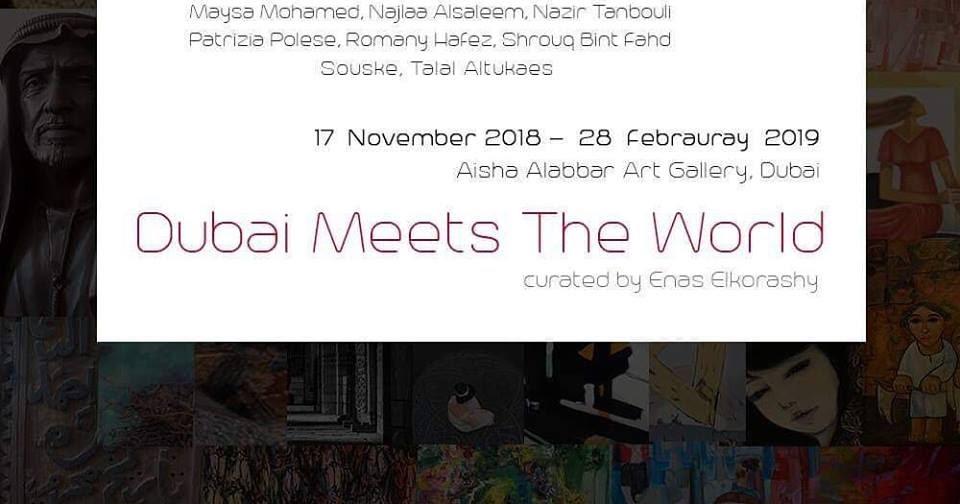 Aisha Alabbar Art Gallery, Dubai, 2018-19