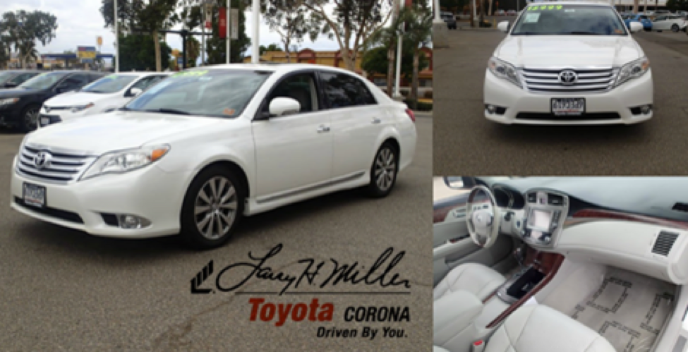 pre owned vehicles at larry h miller toyota corona. Black Bedroom Furniture Sets. Home Design Ideas