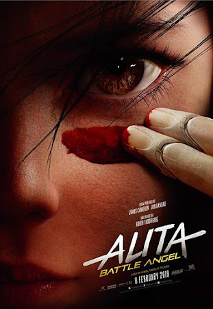 Poster Of Alita: Battle Angel 2019 In Hindi Bluray 1080P HEVC Free Download