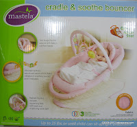 Mastela Cradle and Soothe Bouncer